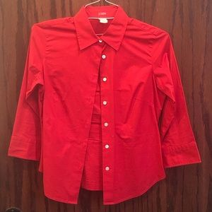 J Crew Ladies Dress Shirt